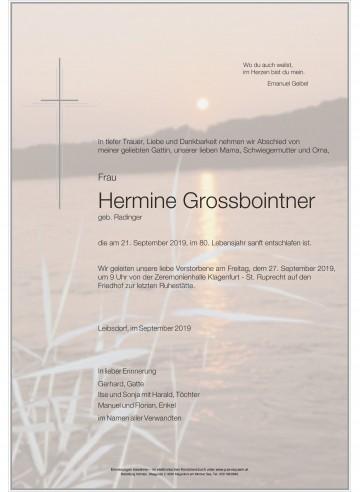 Hermine Grossbointner