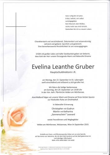 Evelina Leanthe Gruber