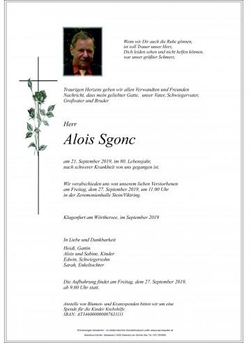 Alois Sgonc