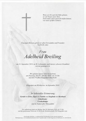 Adelheid Breiling