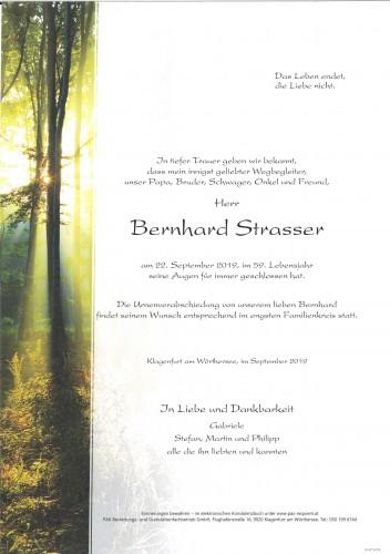 Bernhard Strasser