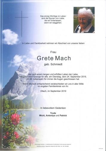 Grete Mach