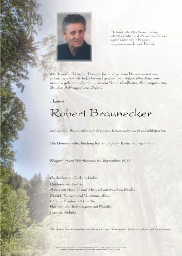 Robert Braunecker