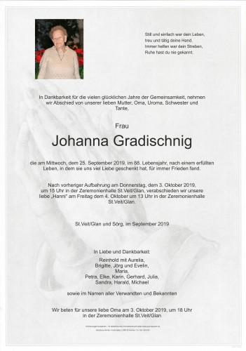 Johanna Gradischnig