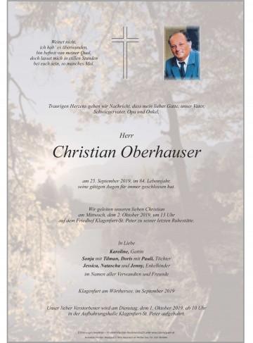 Christian Oberhauser