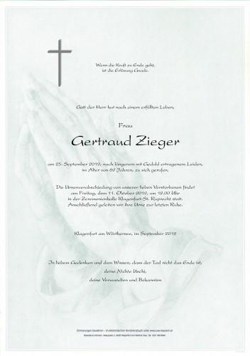 Gertraud Zieger