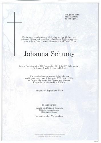 Johanna Schumy