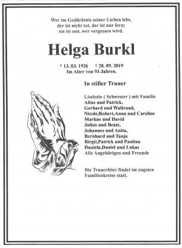 Helga Burkl