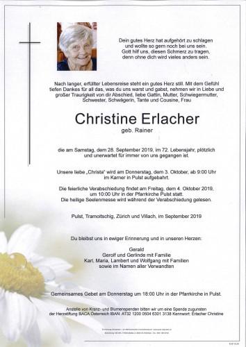 Erlacher Christine
