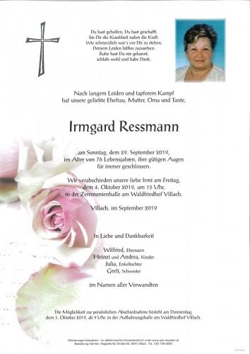 Irmgard Ressmann