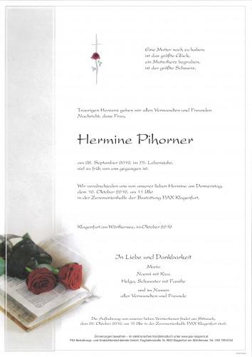 Hermine Helene Pihorner