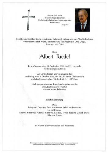Albert Riedel