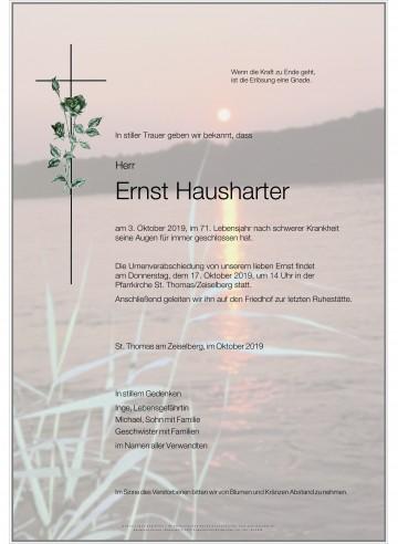 Ernst Hausharter