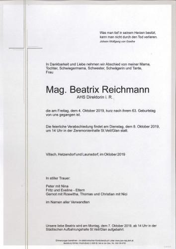 Beatrix Reichmann