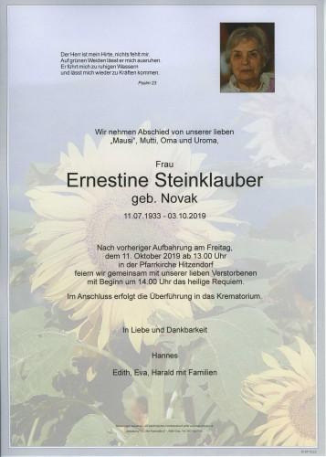 Ernestine Steinklauber