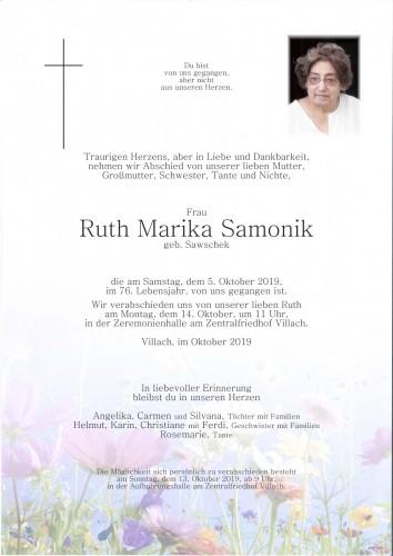 Ruth Marika Samonik
