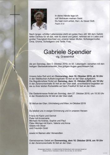 Gabriele Spendier