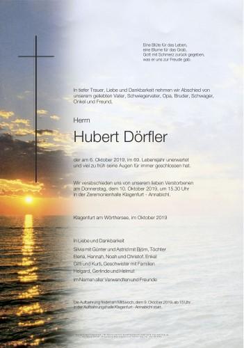 Hubert Dörfler