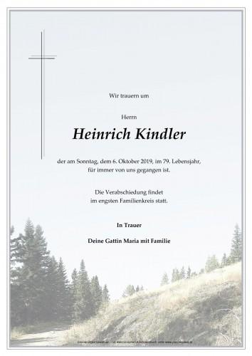 Heinrich Kindler