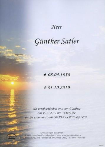Günther Satler