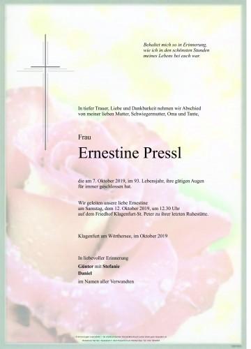 Ernestine Pressl