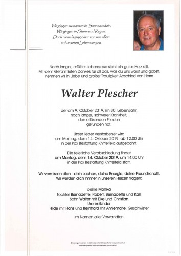 Walter Plescher