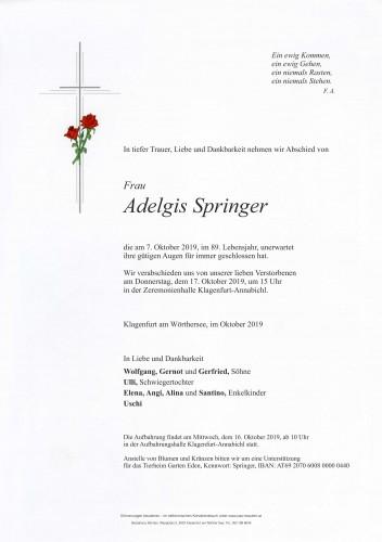 Adelgis Springer