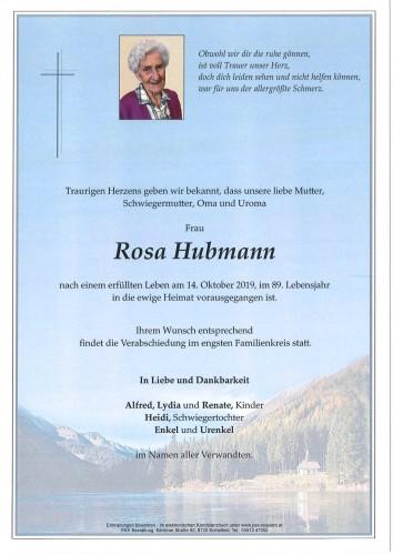 Rosa Hubmann