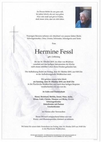 Hermine Fessl geb. Gröbming