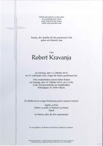 Robert Kravanja