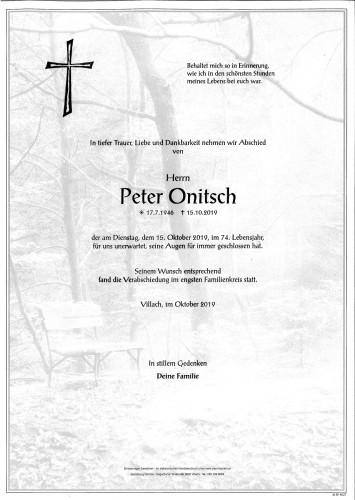 Peter Onitsch