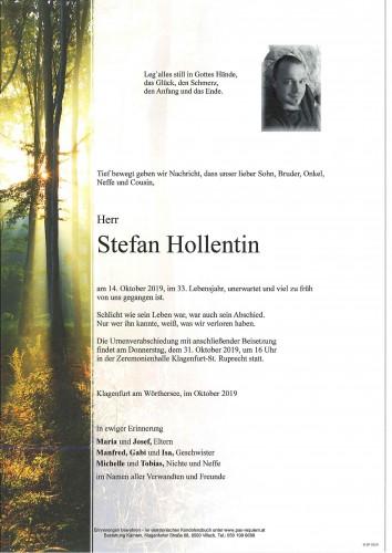 Stefan Hollentin