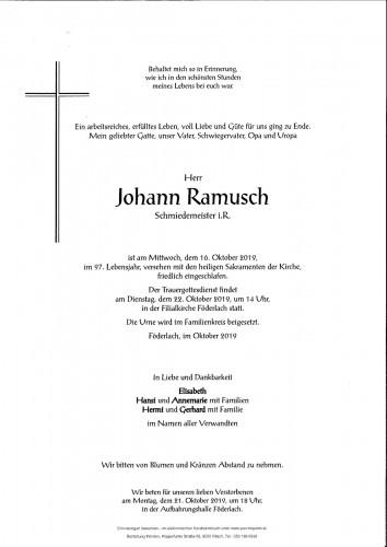 Johann Ramusch