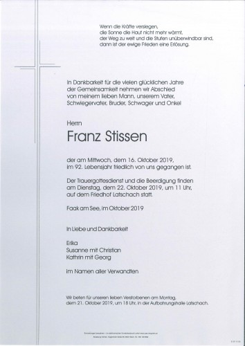 Franz Johann Stissen
