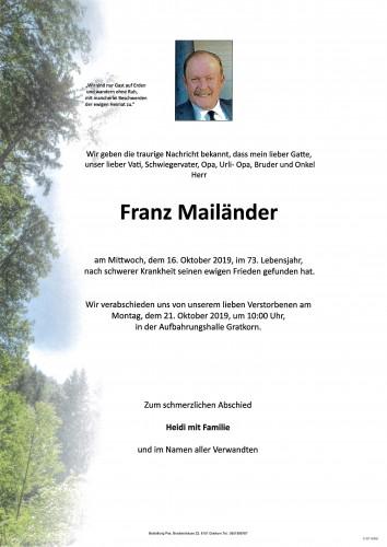 Franz Mailänder