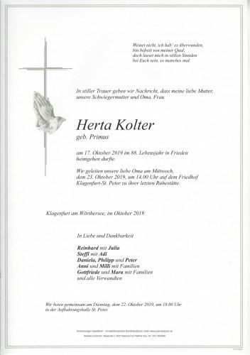 Herta Kolter