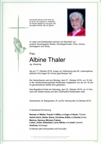 Albine Thaler