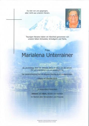 Marialena Unterrainer