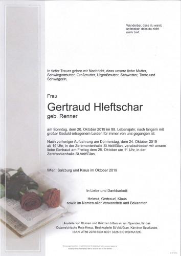 Gertraud Hleftschar