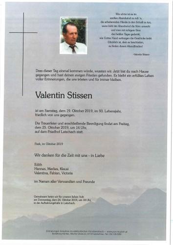 Valentin Stissen