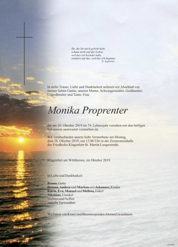 Monika Proprenter