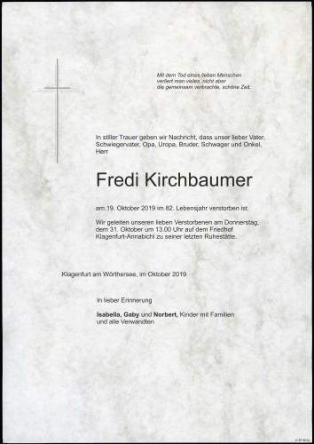 Horst Friedrich Kirchbaumer