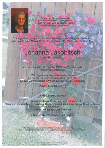 Johanna Jakobitsch