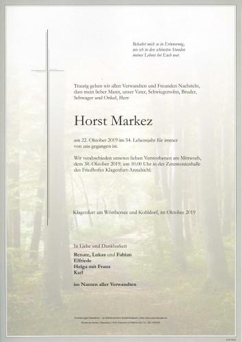 Horst Markez