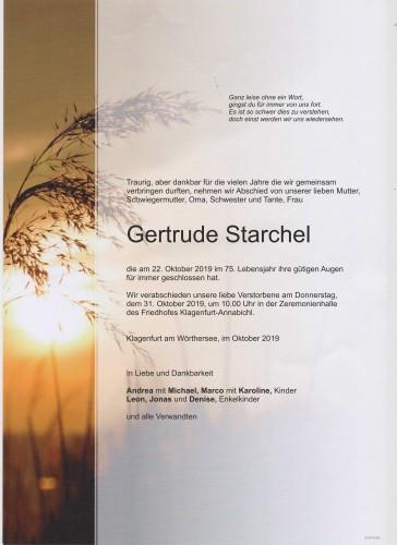 Gertrude Starchel