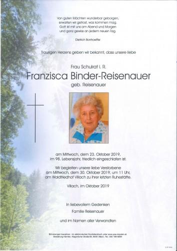 Franzisca Binder-Reisenauer