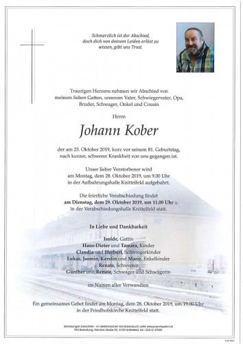 Johann Kober