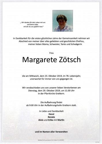 Margarete Zötsch