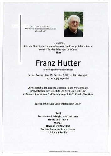 Franz Hutter