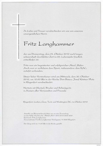 Fritz Langhammer